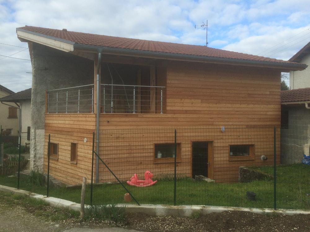 extension ossature bois criel de renage charpente 38 entreprise afd structure. Black Bedroom Furniture Sets. Home Design Ideas